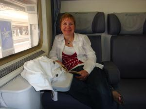 On the train from Napoli