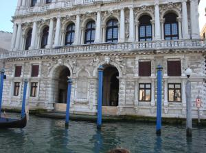 "One of the many ""palaces"" along the Grande canal"