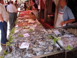 The varieties of fish!