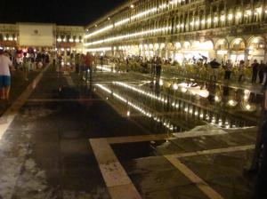 Flooding at San Marco Piazza