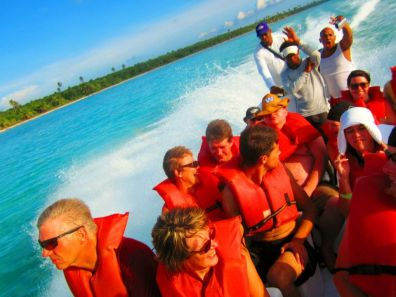 Speed Boat From Saona Island