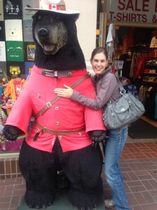 Jamie and Mounty Bear