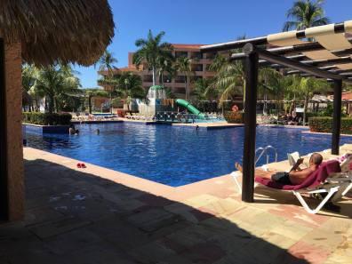 Barcelo Huatulco Pool Area
