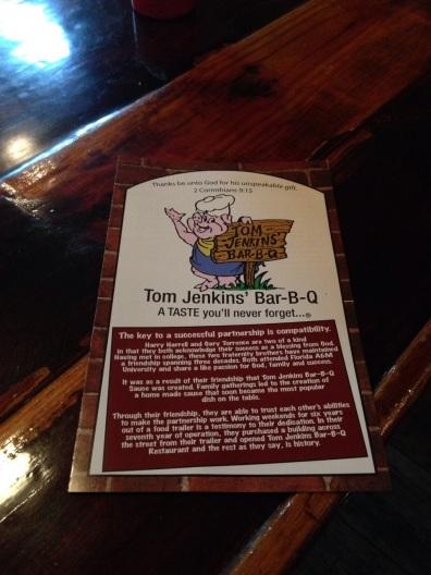 Tom Jenkins BBQ 2