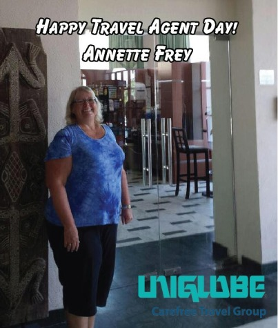 Travel Agent Day 2018 - Annette photo