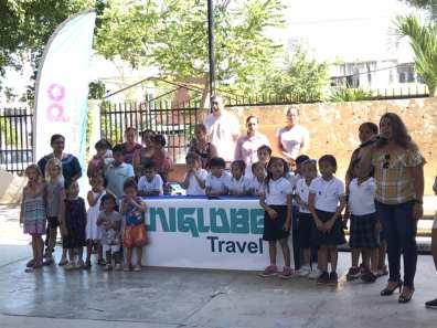 Local school improvement project near Cancun