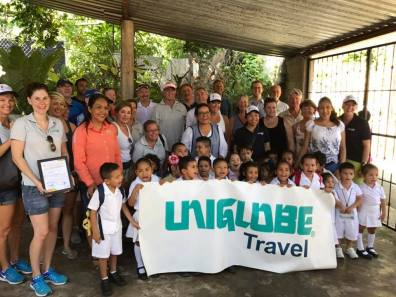 Giving back to a local school in Puerto Vallarta