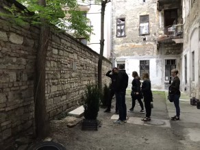 Last remnants of the Jewish Ghetto Wall from WWII