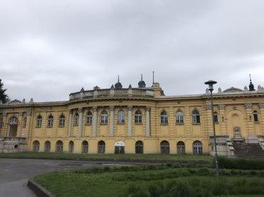 Szechenyi baths exterior