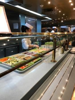 Lido Deck Salad Bar