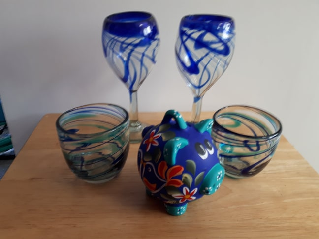 Annette Mexican Glass