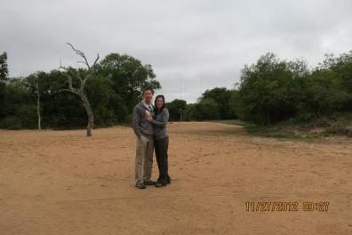 Kapama River Lodge - engaged!
