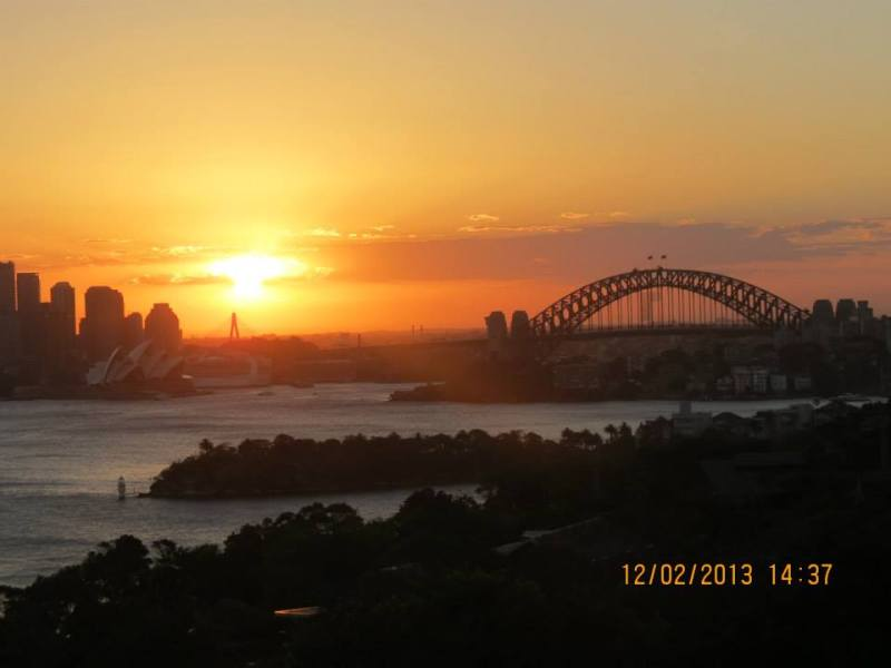 Sydney Zoo at Sunset 1
